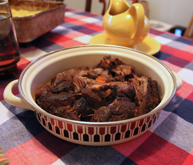 Slow Cooker Pot Roast Recipe on Mr. and Mr. Blandings