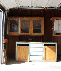 original kitchen cabinets for our American System-Built home