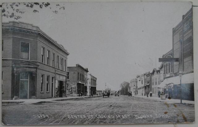 Monona, Iowa as seen in 1914