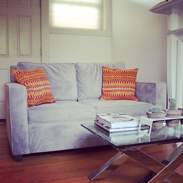 West Elm Henry Love Seat | This American House