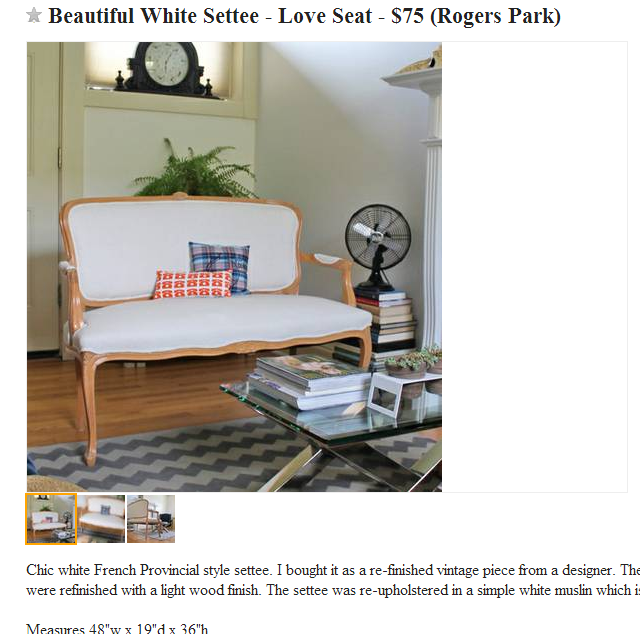 How I Miss Craigslist | This American House