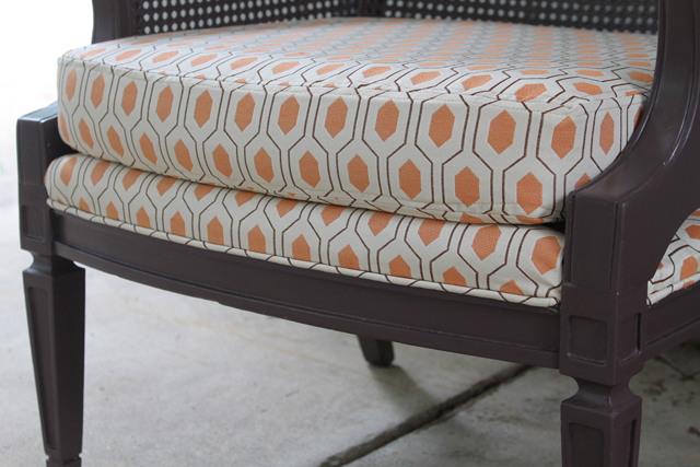 Chair Reupholstery Project | This American House