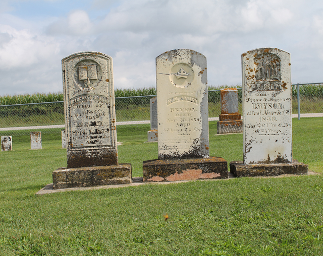 Pioneer Cemetery: Rossville, Iowa | This American House