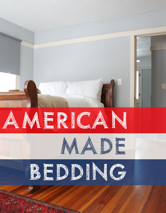 7 Sources for Bedding Made in the USA | This American House