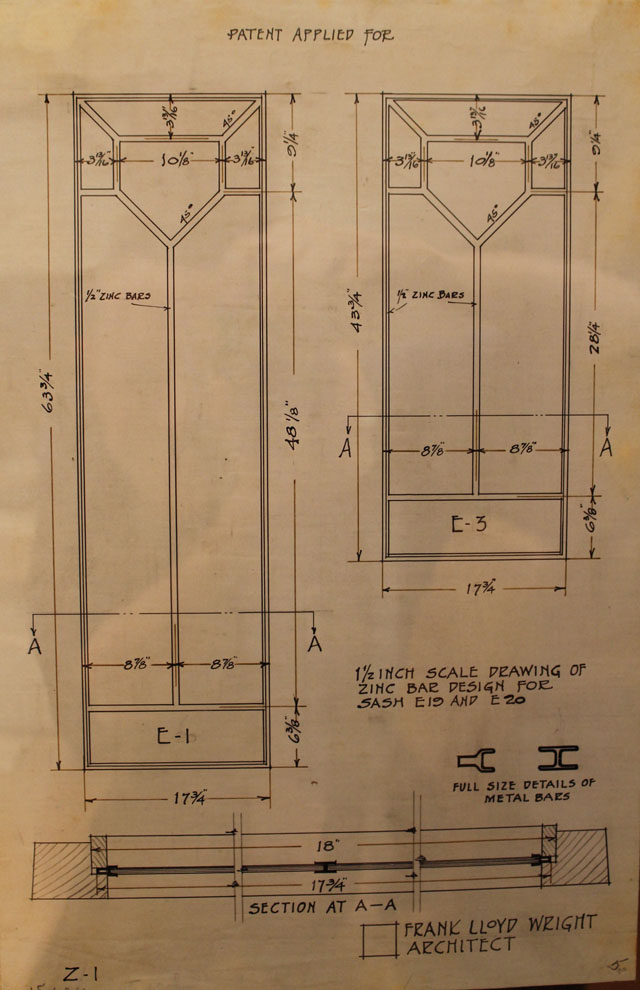 Plans for Zinc Glass Windows for American System Built homes | This American House