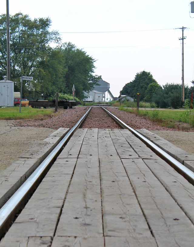 Pic a Day: Making Tracks Through Town | This American House