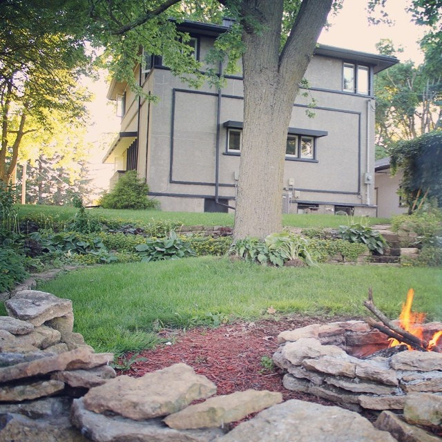 Pic a Day: It's Fire Pit Season | This American House