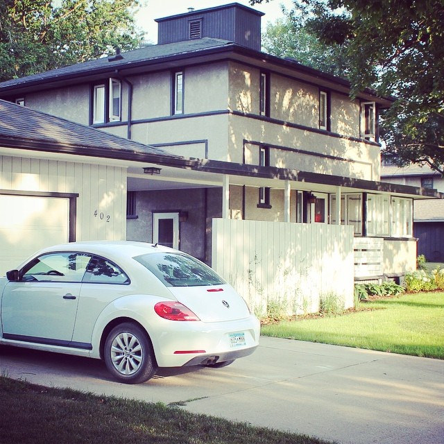 Pic a Day: A Beetle in the Driveway | This American House