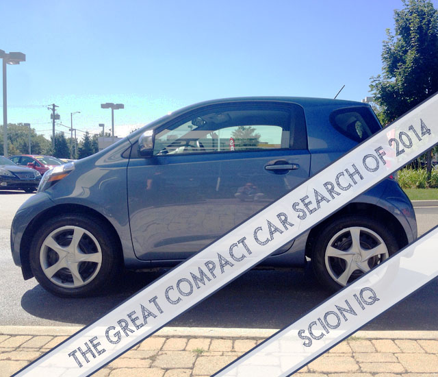 The Great Compact Car Search of 2014: Scion IQ | This American House