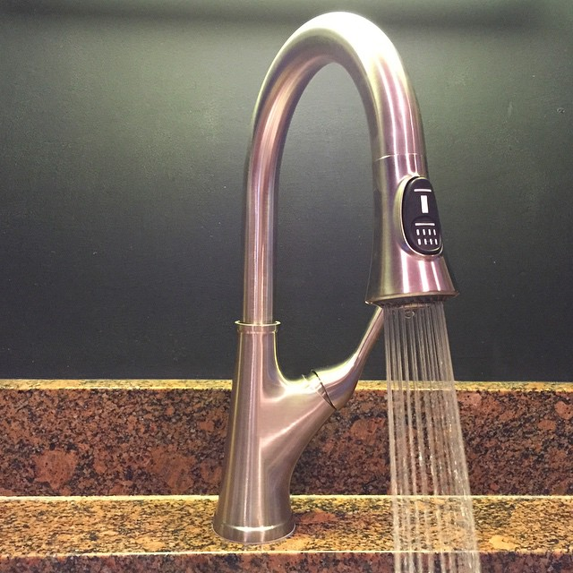 Pfister Cantara Kitchen Faucet | This American House