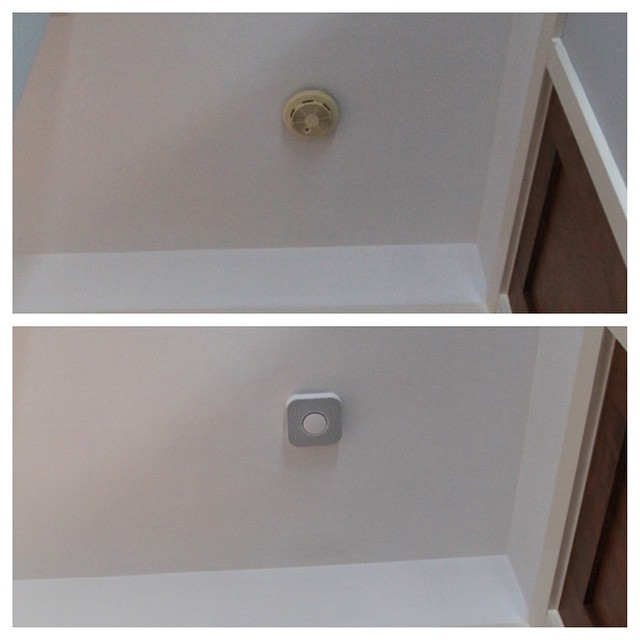 Old vs. New Smoke Detector | This American House