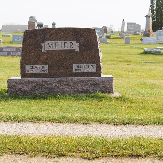 Delbert Meier and Grace Meier, Monona, Iowa   This American House