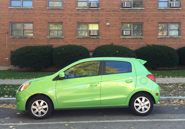 Test Driving the Mitsubishi Mirage
