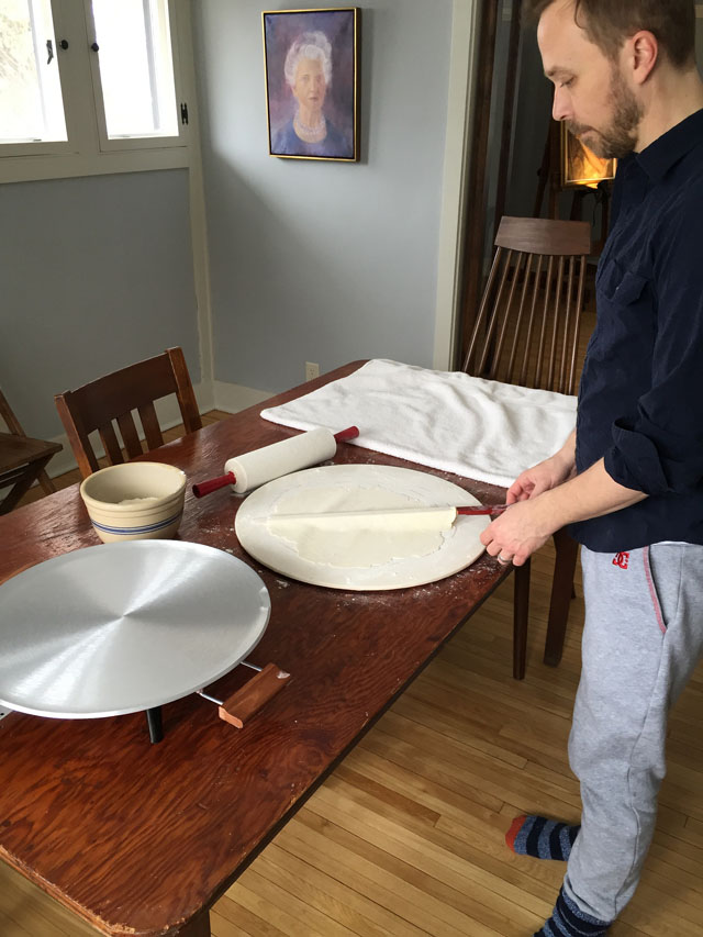 Making Lefse at This American House
