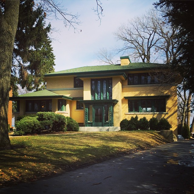 John S. Van Bergen House at 741 Sheridan Road Evanston Illinois