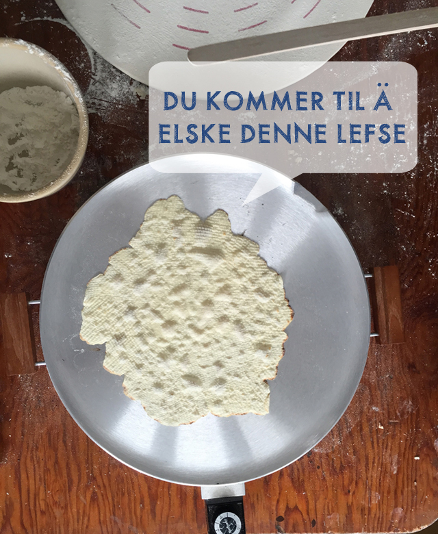 Lefse Recipe on This American House