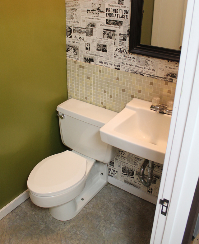 Updating a Dated Bathroom | This American House