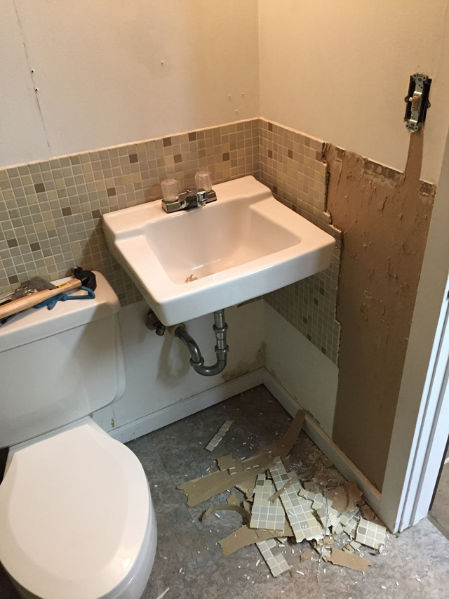 RENOVATING A BASEMENT BATHROOM | THIS AMERICAN HOUSE
