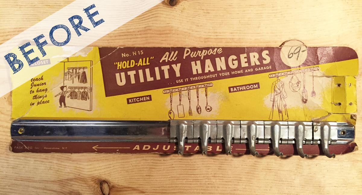 Upcycled Vintage Hooks