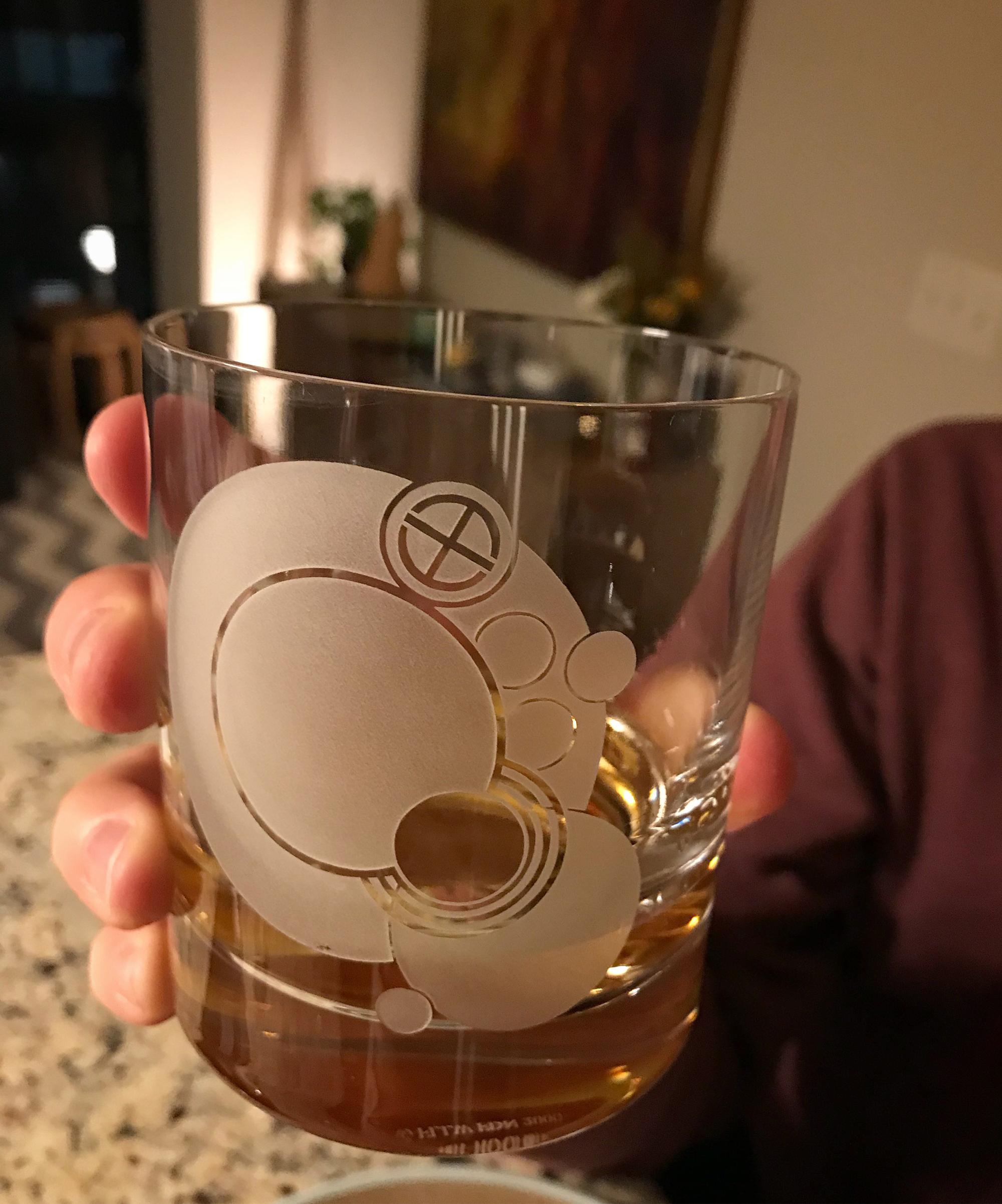 Frank Lloyd Wright Drinking Glass