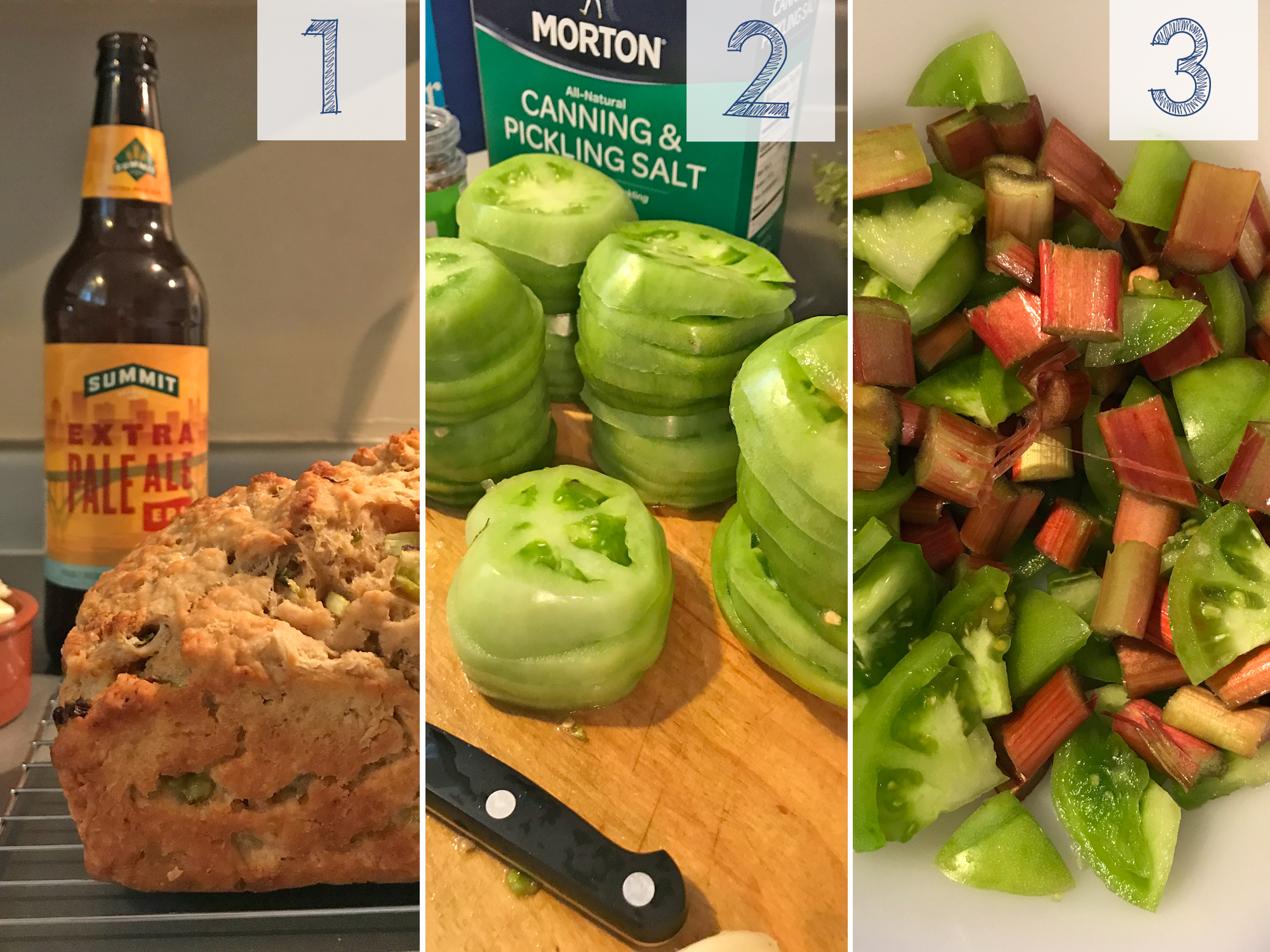 3 Green Tomato Recipes on This American House