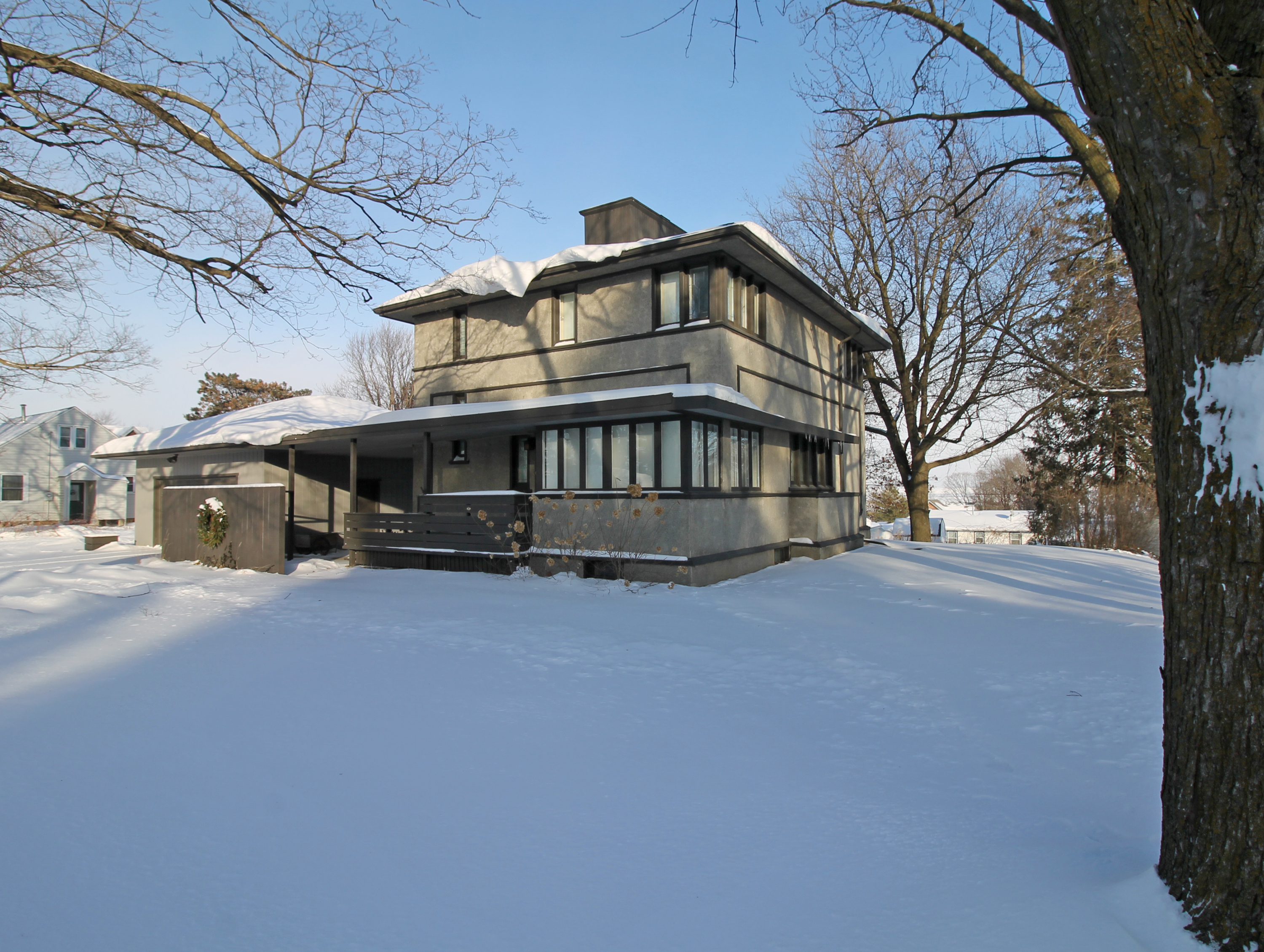 Meier House in Winter