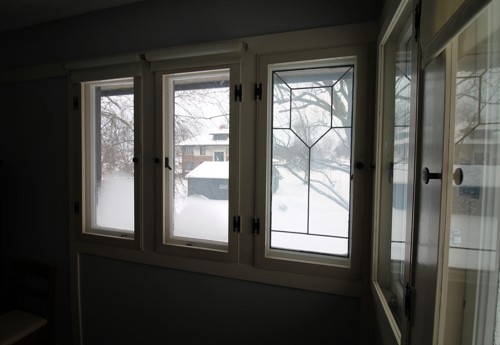 American System-Built Home - Window