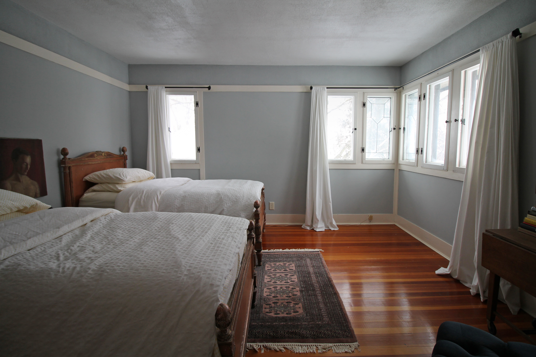 American System-Built Home by Frank Lloyd Wright corner windows